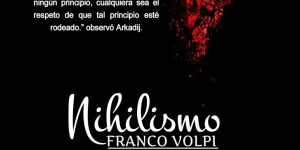 El nihilismo, Franco Volpi